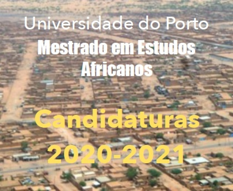 Master in African Studies - Applications for 2020-2021 - 2nd Round